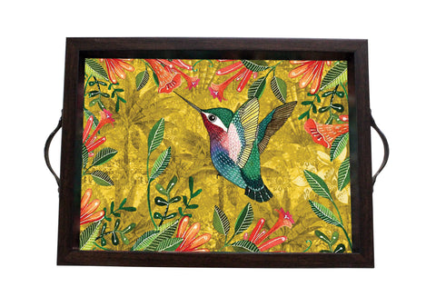 Tray, Small (Palm Bird - Yellow)