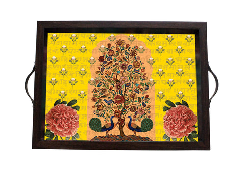 Tray, Small (Tree Of Life - Yellow)