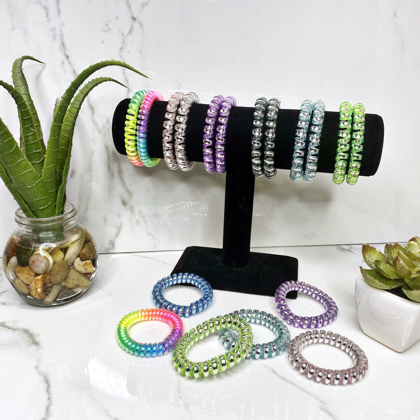 Coiled Hair Ties (Assorted)