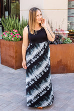 Load image into Gallery viewer, Tie Dye Tank Maxi Dress - Grey