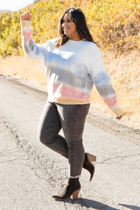 Blurred Lines Sweater