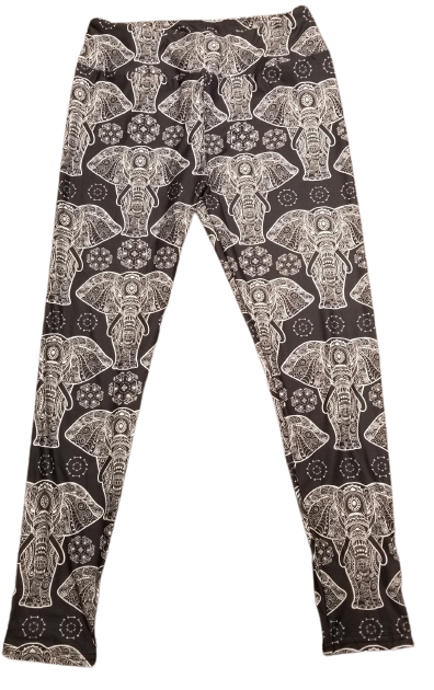 Boho Elephants Leggings