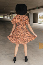 Load image into Gallery viewer, Fall Fancy Tiered Dress In Sunrise