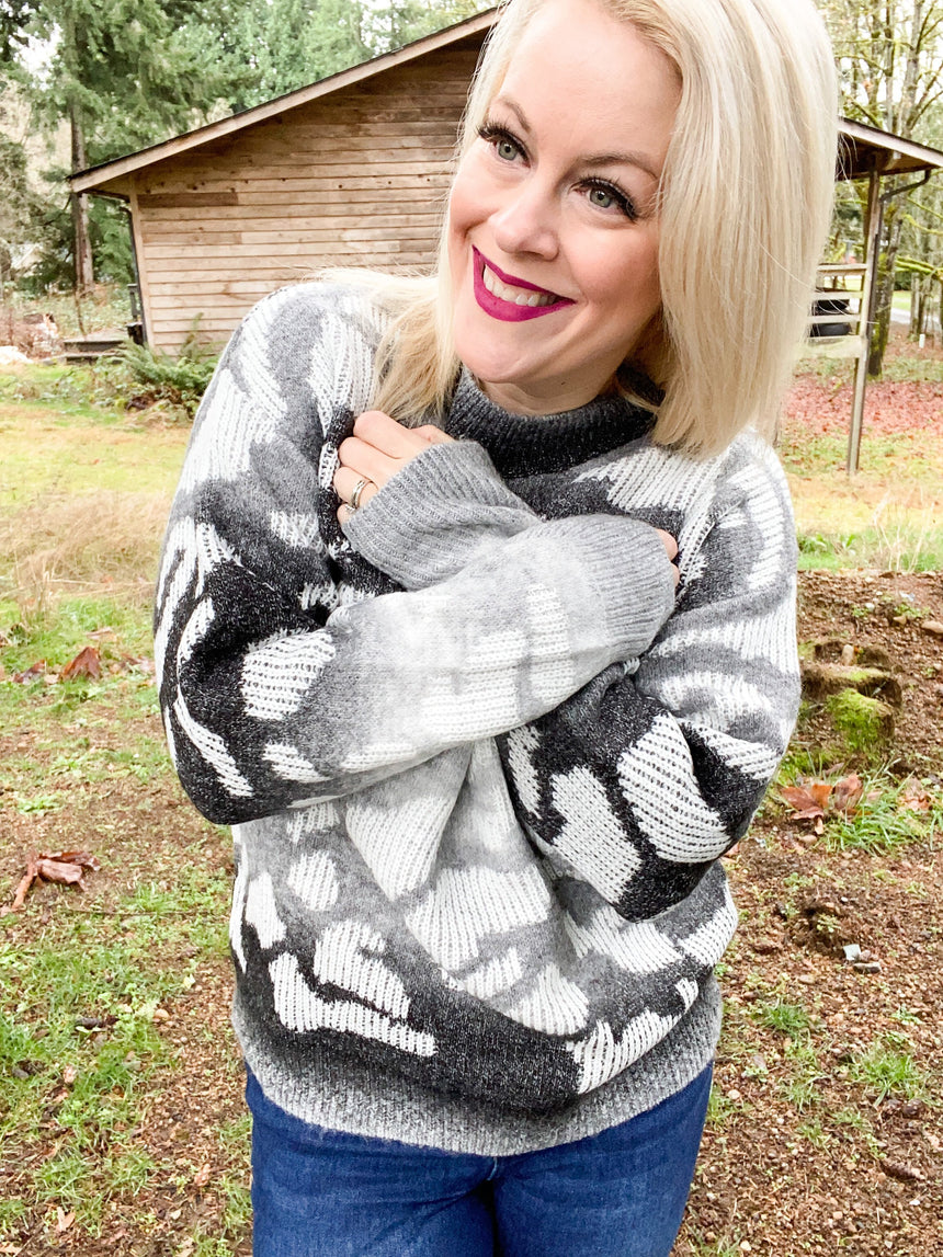 Leopard Dreaming Sweater