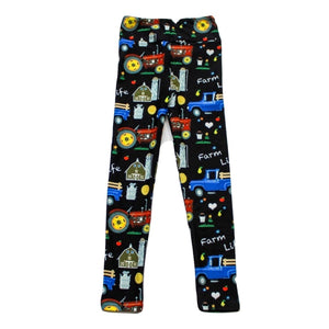 Farm Life Kids Leggings