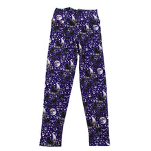 Load image into Gallery viewer, Moon Kitty Kids Leggings