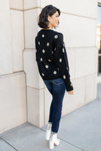 Load image into Gallery viewer, Polka Dots and Knit Sweater