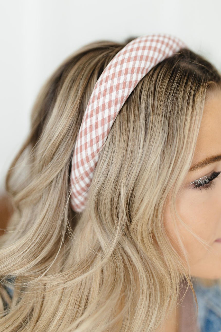 Presley Plaid Headband