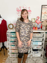 Load image into Gallery viewer, Camo Tunic & dress