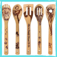 Load image into Gallery viewer, Character Wooden Spoon Set