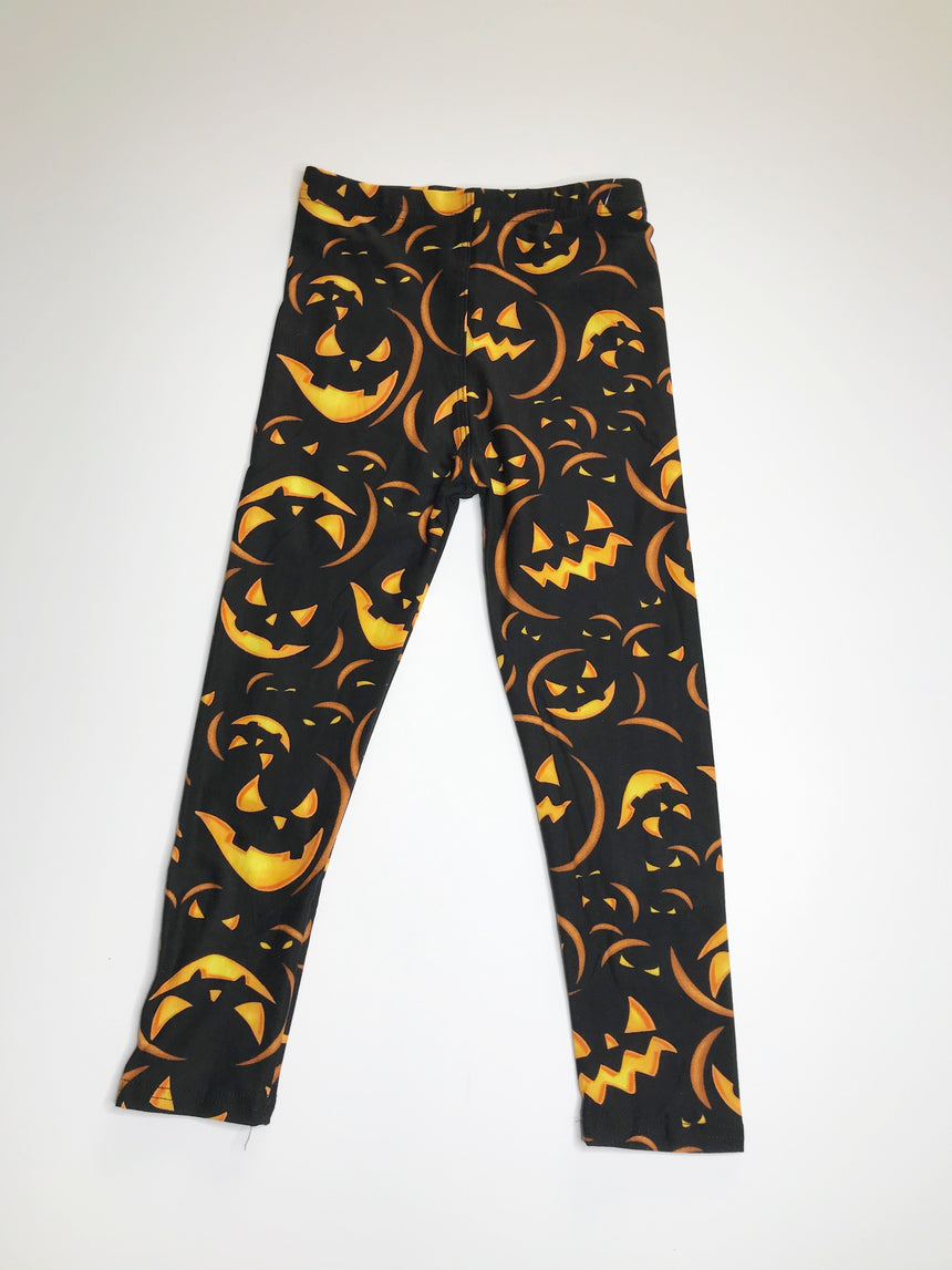 Kids Halloween Leggings