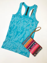 Load image into Gallery viewer, Aqua workout tank