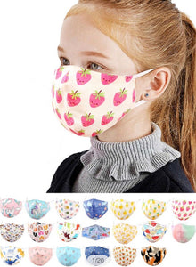 Kids Face Mask Patterned