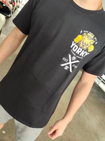 Yorky MMA Official Tee Shirt Black Edition
