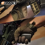 holding firearms Touch Screen Hard Knuckle Tactical Gloves
