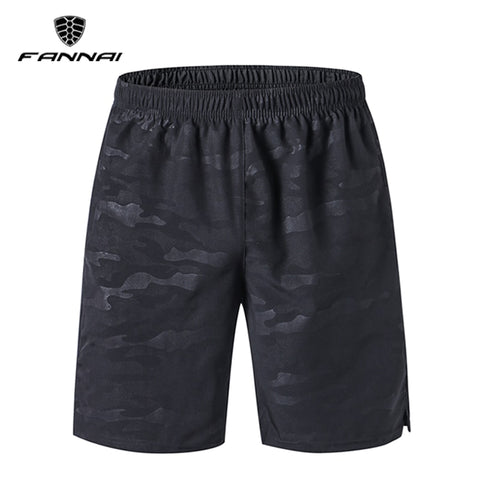 gym sport shorts FANNAI front view camouflage