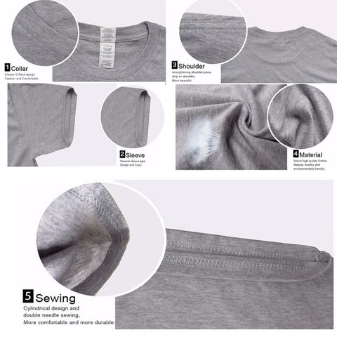 t-shirt technical details, stitching, neck, material, breathability