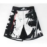 Front view MMA Shorts Bushido Samurai Edition - Martial Arts Asia