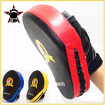 Cover image 3 color samples red, yellow, blue Hand Target Focus Mitt