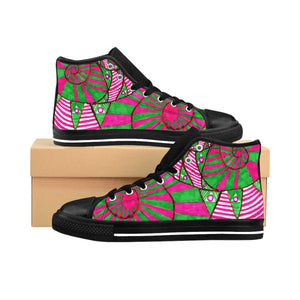 Circus Snake Women's High-top Sneakers