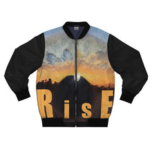 Load image into Gallery viewer, Eye Rise Dawn Men's AOP Bomber Jacket