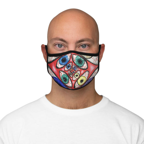 2020 Vision Fitted Polyester Face Mask
