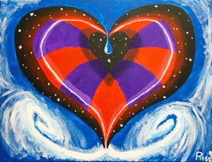 "Painting - ""Heart Expansion"""