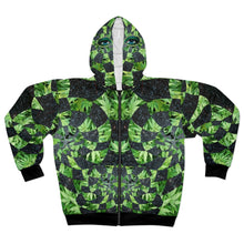 Load image into Gallery viewer, Hemp Space Goddess AOP Unisex Zip Hoodie