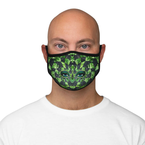Hemp Space Goddess Fitted Polyester Face Mask
