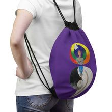 Load image into Gallery viewer, Semicolon Drawstring Bag