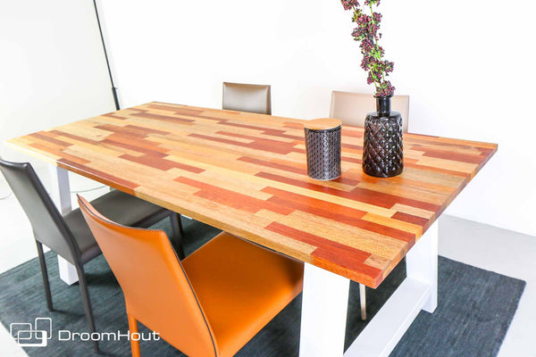 Tafel mixed wood meranti DREAUM Mista