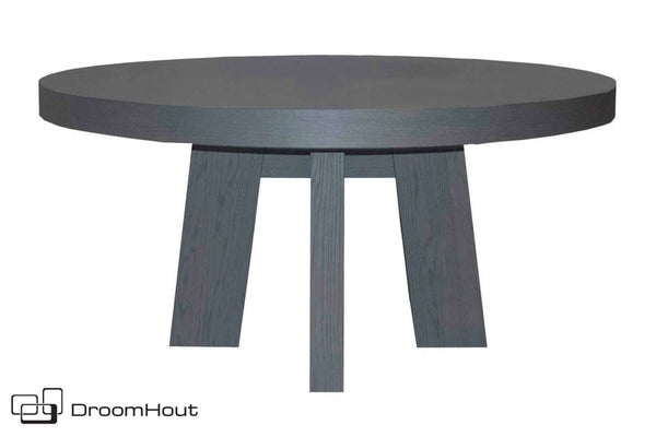 Tafel eiken Keijser en Co Big Top rond 4-poot