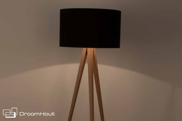 Vloerlamp Zuiver Tripod Wood