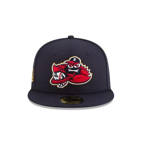 Lakewood BlueClaws New Era 2018 Stars & Stripes Fitted Cap