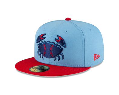 Jersey Shore BlueClaws Road Fitted Hat