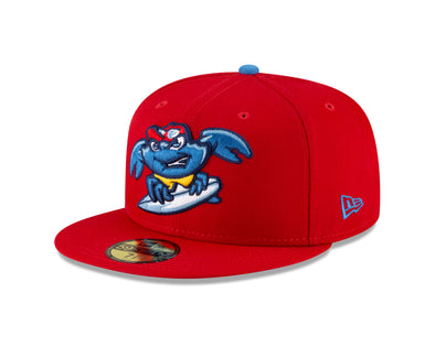 Jersey Shore BlueClaws Home Fitted Hat