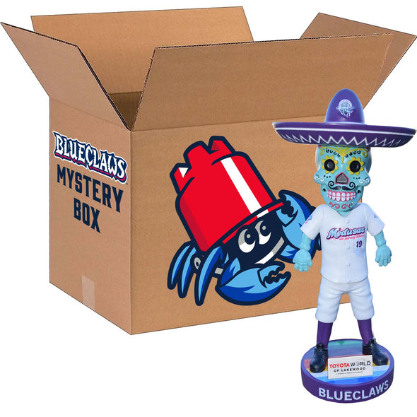 Lakewood BlueClaws Sugar Skull Bobblehead Mystery Box