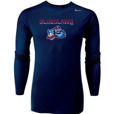 Lakewood BlueClaws Youth Legend Long Sleeve Tee