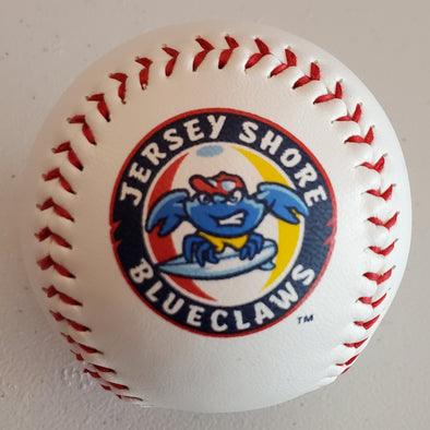 Jersey Shore BlueClaws Logo Baseball