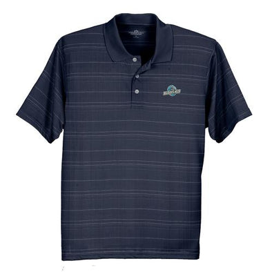 Lakewood BlueClaws Striped Navy Polo