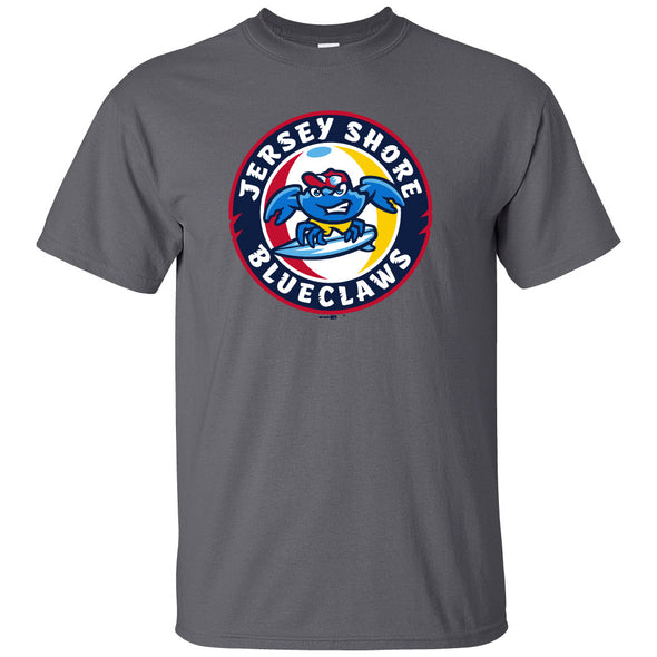 Jersey Shore BlueClaws Primary Logo Tee