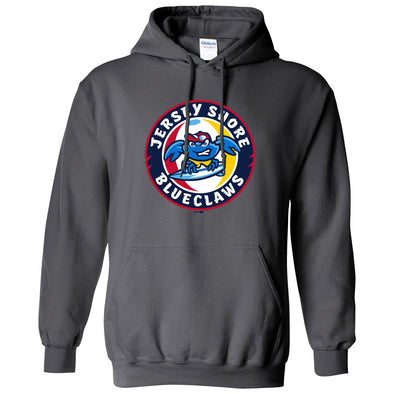 Jersey Shore BlueClaws Primary Logo Hood