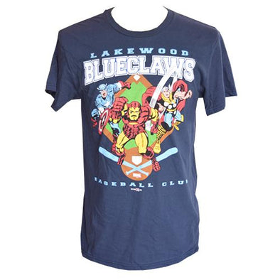 Lakewood BlueClaws Youth Marvel Tee