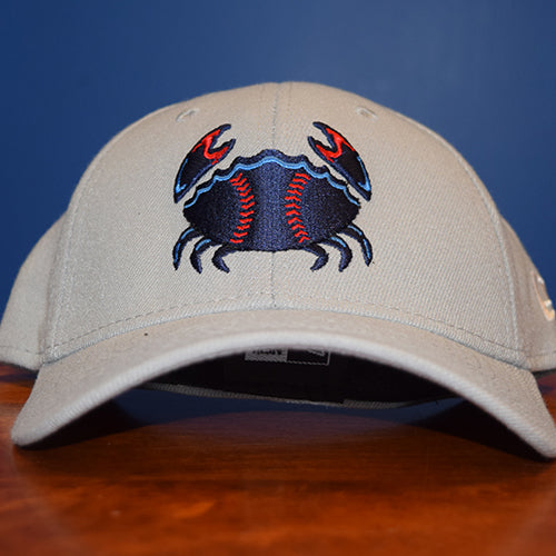 Jersey Shore BlueClaws Road Logo Stretch Cap