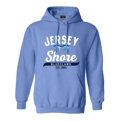 Jersey Shore BlueClaws Comfort Fleece Hood