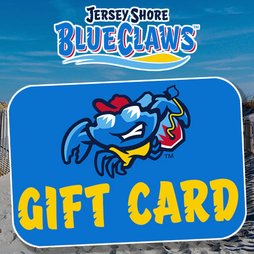 Jersey Shore BlueClaws Gift Card