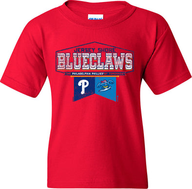 Jersey Shore BlueClaws Youth Flagstaff Tee