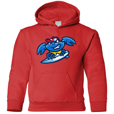 Jersey Shore BlueClaws Youth Home Logo Hood