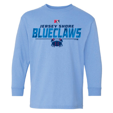Jersey Shore BlueClaws Youth Office L/S