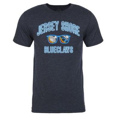Jersey Shore BlueClaws Neon Tee